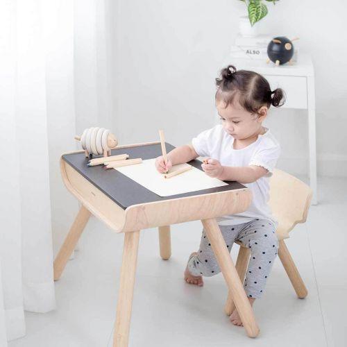 Set masa si scaun lemn [0]