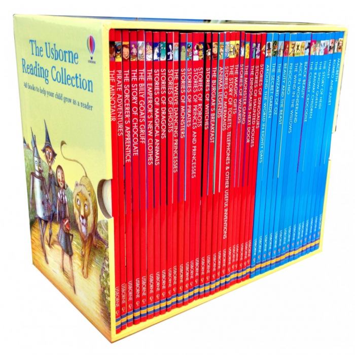 The Usborne Reading Collection 40 books 0