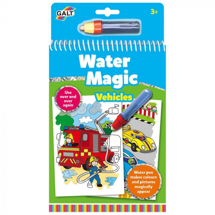 Water Magic: Carte de colorat Vehicule [0]