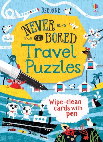 Travel Puzzles carduri de tipul scrie-sterge 0