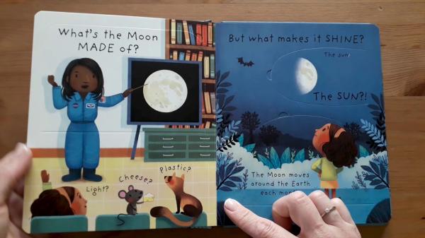 What is the Moon? Ce este luna? [1]
