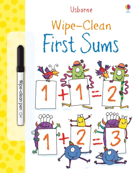 First Sums Wipe Clean 0