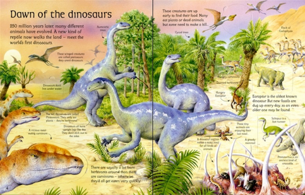 See inside the world of dinosaurs 1