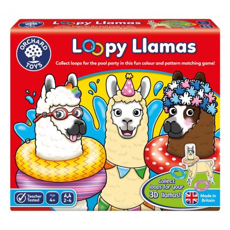Joc educativ Lame cu colaci Loomy Llamas [0]