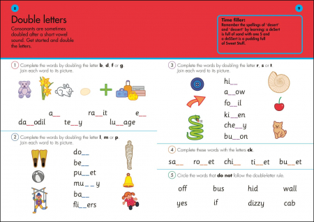 10 Minutes A Day Spelling Ages 5-7 Key Stage 1 [1]