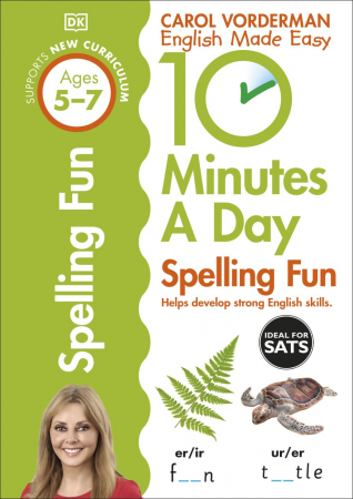 10 Minutes a Day Spelling Fun Ages 5-7 Key Stage 1 [0]
