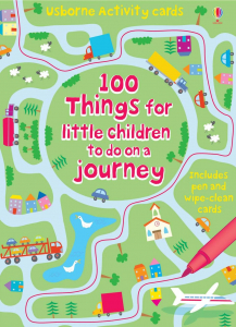 100 Things for little children to do on a journey - Carduri refolosiblle0