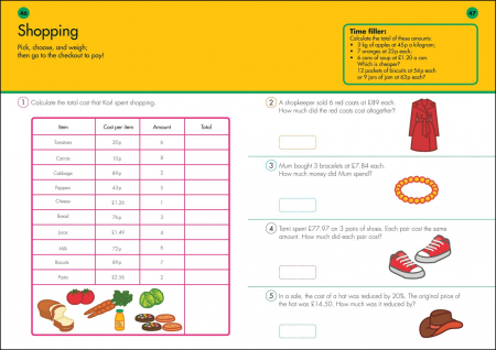 10 Minutes A Day Times Tables inmultiri3