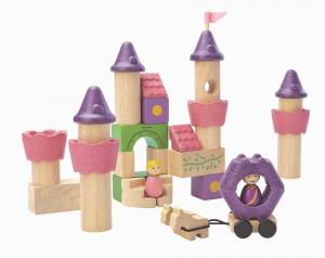 Fairy Tale Blocks - Set de constructie castel si figurine0