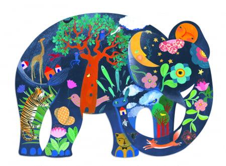 Puzzle Elefant 150 piese1