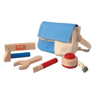 Trusa de unelte de lemn cu centura0