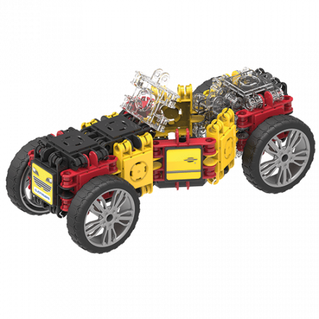 Set de construit Clicformers- Masini de viteza, set 34 piese1
