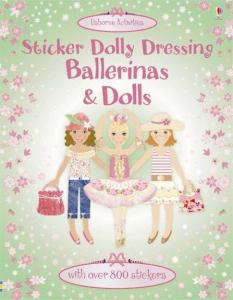 Ballerinas and dolls sticker dolly dressing0