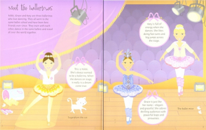 Ballerinas and dolls sticker dolly dressing1