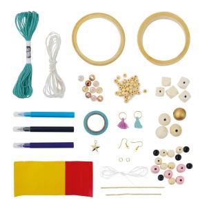 Set de creatie - bijuterii de lemn2