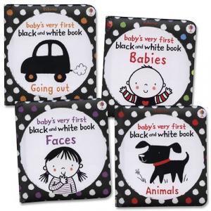 Set cărți bebeluși Black and White Little Library1