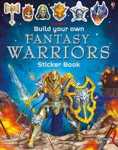 Build your own fantasy warriors sticker book0