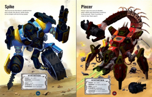 Build your own robots sticker book - carte despre roboti cu autocolante2