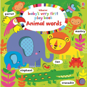 Baby's very first playbook animal words0
