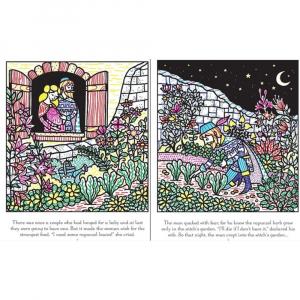 Carte de pictat cu apa - Rapuzel Magic Painting Book1