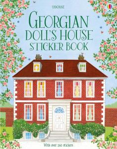 Georgian doll's house sticker book0