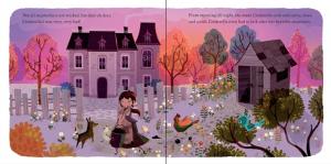Puzzle si carte Cenușăreasa1