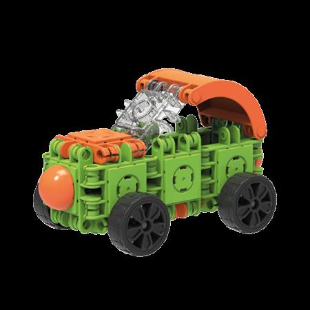 Set de construit Clicformers- Craft verde 25 de piese2