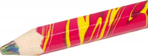 Creioane curcubeu -set de 9 si 2 ascutitori1