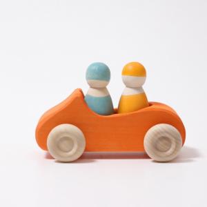 Mașina decapotabilă - Large Convertible Car - Orange0