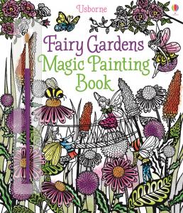 Carte de pictat cu apa - Fairy Gardens Magic Painting0
