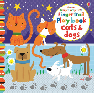 Baby's very first fingertrail play book cats and dogs0