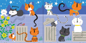 Baby's very first fingertrail play book cats and dogs2