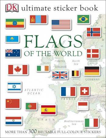 Flags of the World Ultimate Sticker Book0