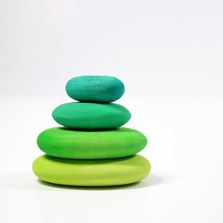 Forme in echilibru - Verde [1]