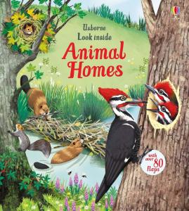 Look inside animal homes0