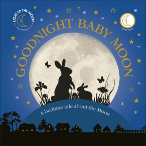Good Night baby Moon- carte cu lumină de veghe0