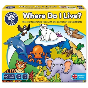 Joc educativ loto Habitate WHERE DO I LIVE0