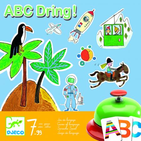 Joc de societate abecedar – ABC dring0