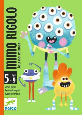 Joc cu cărti Rigolo Mimo0