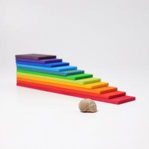 Set creativ cu plăci - model curcubeu0