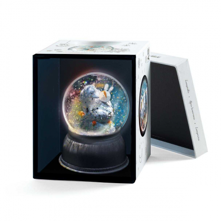 Lampa de veghe Glob cu fulgi de zapada0