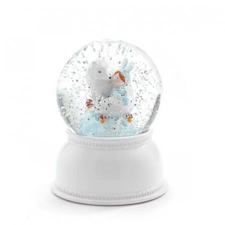 Lampa de veghe Glob cu fulgi de zapada1