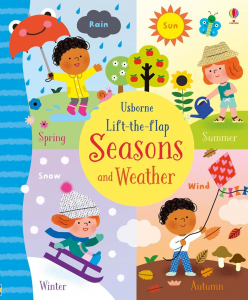Lift-the-flap seasons and weather0
