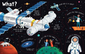 Lift the flap set of 3 books: Q&A Answers About Our World, Lift-The-Flap Q&A Answers About Wolrd, Science and space1
