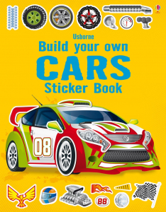 Build your own cars sticker book0