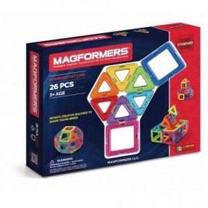 Set magnetic de construit- Magformers, 26 piese0