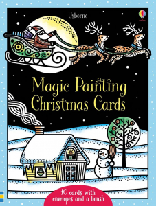 Christmas magic painting cards0