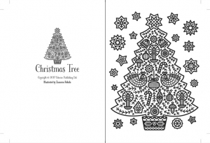 Christmas magic painting cards1