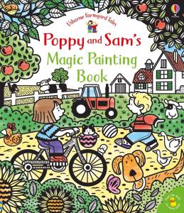 Carte de pictat - Poppy and Sam magic painting0