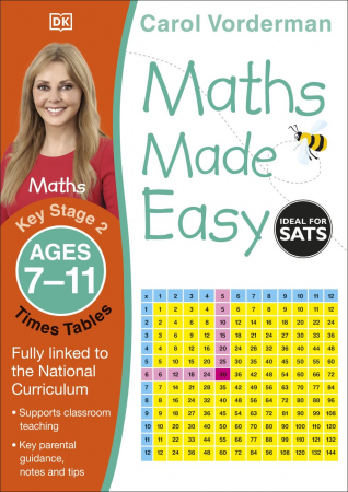 Maths Made Easy Times Tables Ages 7-11 Key Stage 20